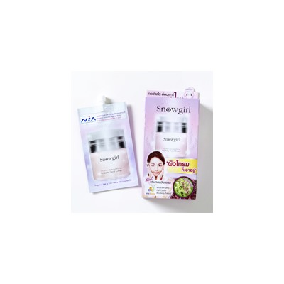Крем для лица Riceberry от Snowgirl 6 гр  / Snowgirl Riceberry Facial Cream 6 гр