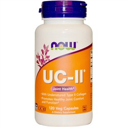 Now Foods, UC-II Joint Health, Undenatured Type II Collagen, 120 Veg Capsules