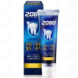 Зубная паста Dental Clinic 2080 Power Shield Gold Spearmint