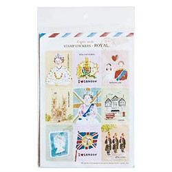 "Набор наклеек ""STAMP STICKERS-ROYAL"""